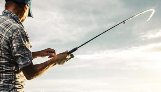 Fishing at Beacon Hill on Cedar Creek Lake