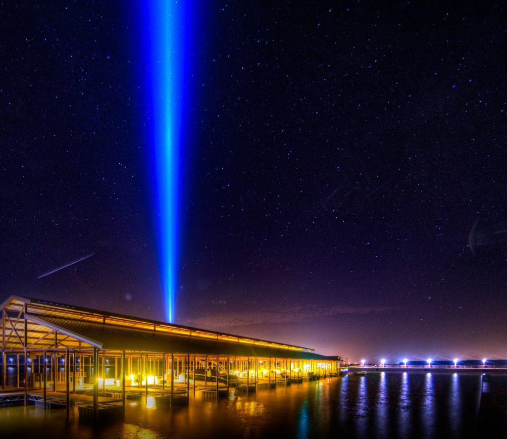 Marina Club At Night photo courtesy of Clint Miller