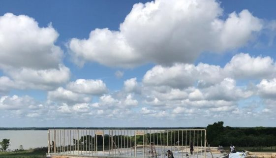 Blue Skies over new construction at Beacon Hill. This community is the perfect place for your new home!