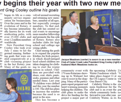 Rotary New Members