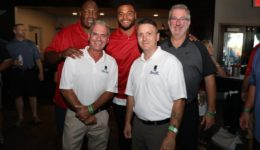 Tackle Tomorrow Event at Top Golf with Beacon Hill and Dallas Cowboy Greats