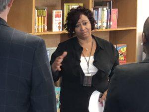 Dunbar Elementary School Principle Mrs. Garrett