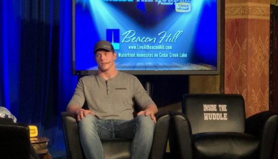 Inside the Huddle taping with Vander Esch.