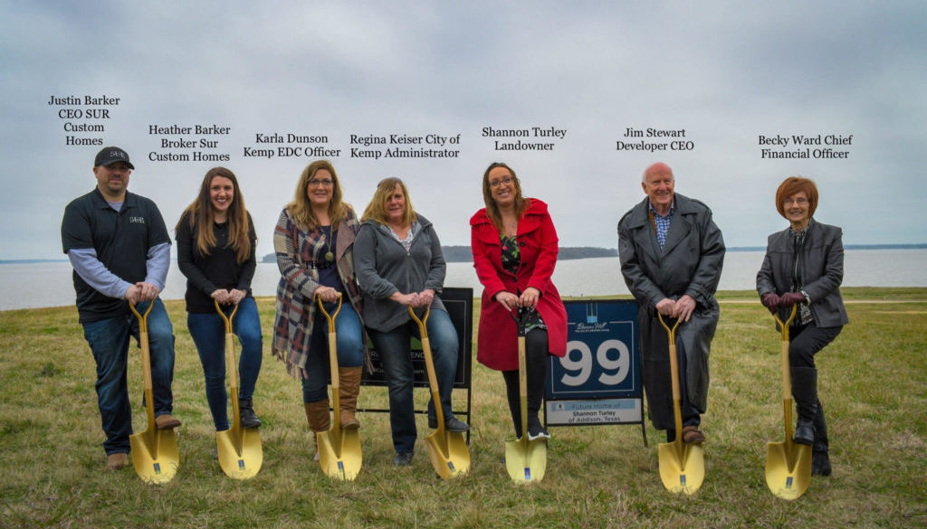 Beacon Hill Groundbreaking of Lot 99, Turley Home.
