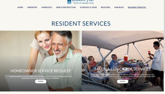 Resident Services at Beacon Hill on Cedar Creek Lake