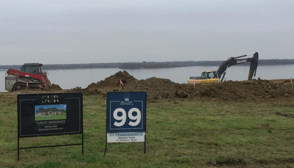 Lot 99 Excavation