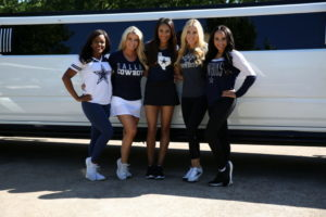 Dallas Cowboy Cheerleaders at the 2019 Annual Rotary Golf Tournament