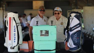 Cedar Creek Lake Rotary President, Greg Cooley, and Golf Committee Chairman, Mark Meadows.