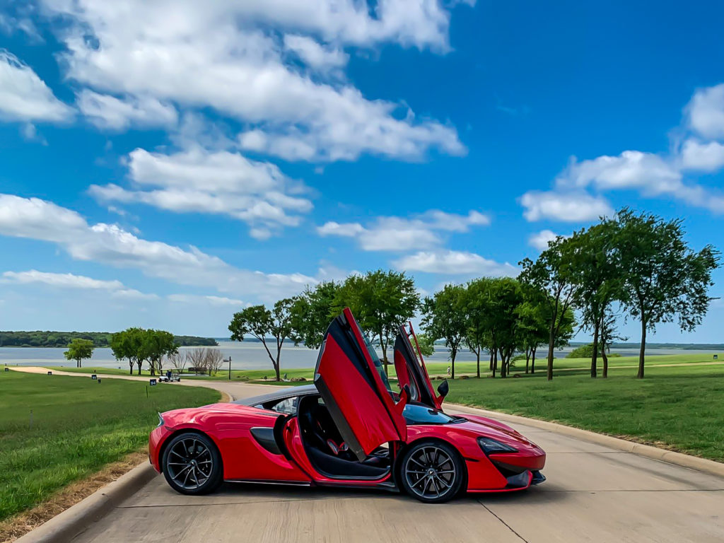 Supercars in Dallas at Beacon Hill on Cedar Creek Lake