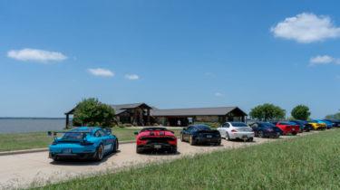Supercars in Dallas at Beacon Hill on Cedar Creek Lake