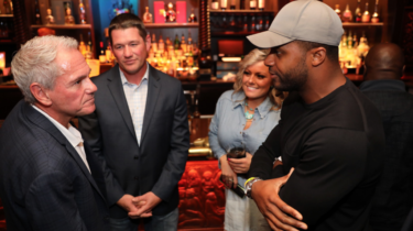 Dallas Cowboy Wide Receiver Randall Cobb at the House of Blues with Beacon Hill on Cedar Creek Lake